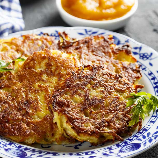 Ayurvedic Spiced Rosti With Avocado Cream thumbnail image