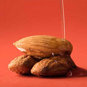 Almond oil for hair Image
