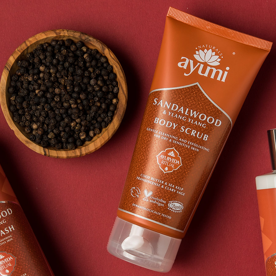 Ayumi Product Sandalwood Body Scrub 2