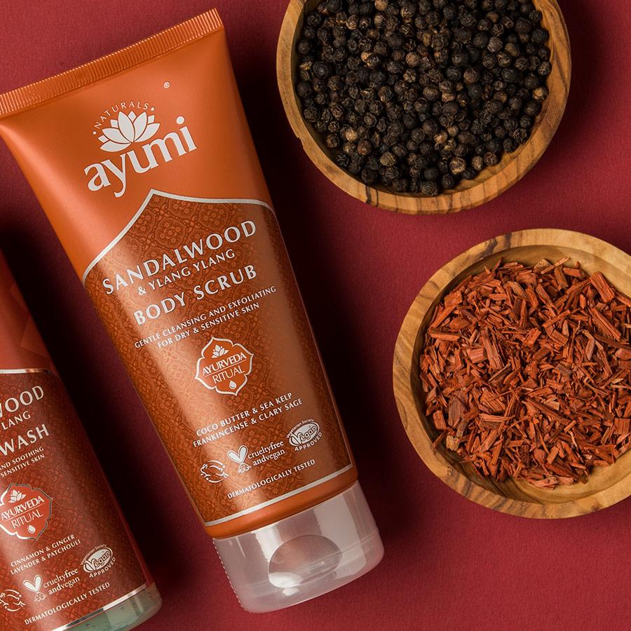Ayumi Product Sandalwood Body Scrub 3