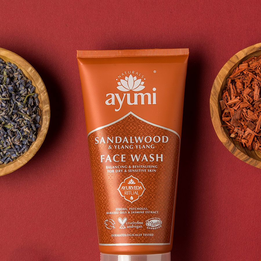 Ayumi Ingredients Sandalwood Face Wash 3