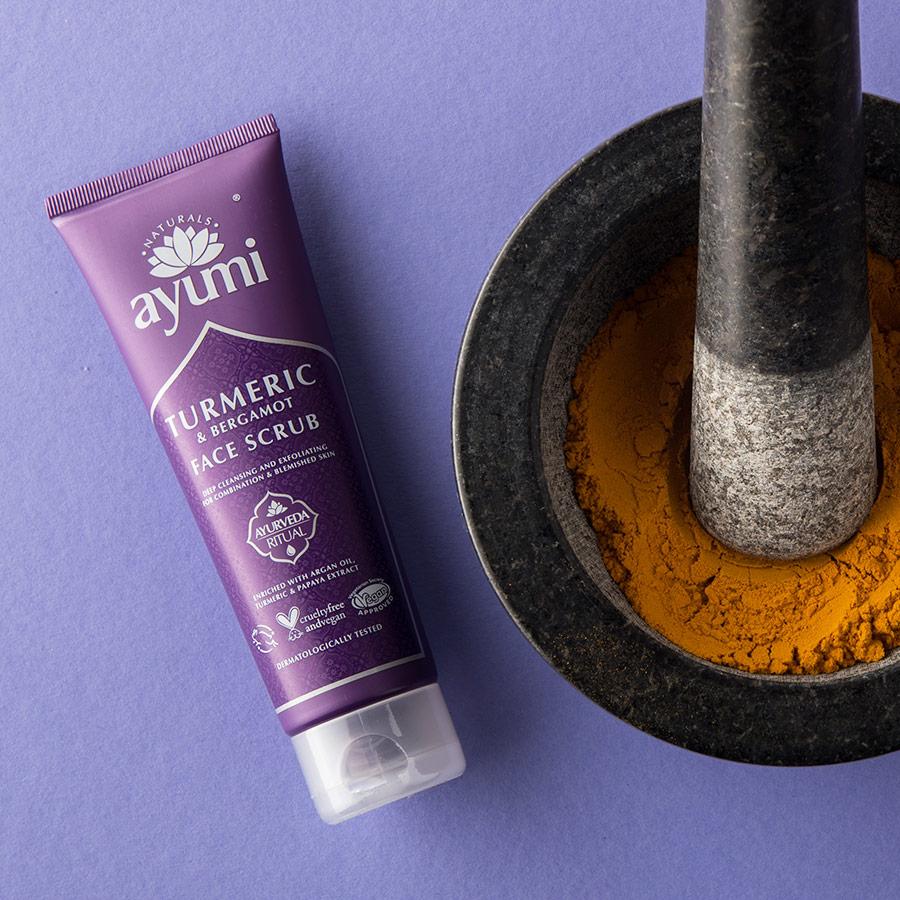 Ayumi Product Turmeric Face Scrub