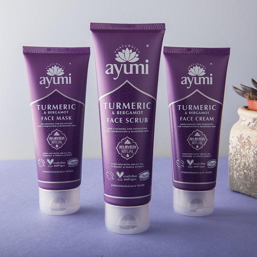 Ayumi Product Turmeric Face Scrub 2