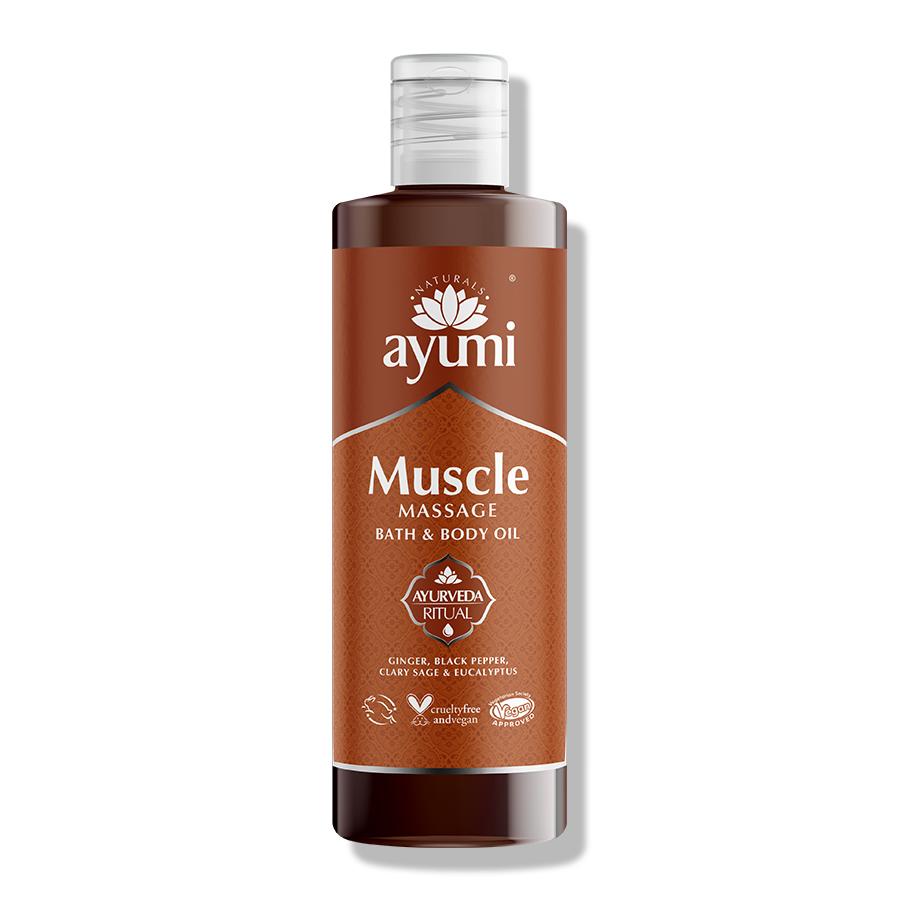 Ayumi Muscle Massage Bath and Body Oil 4