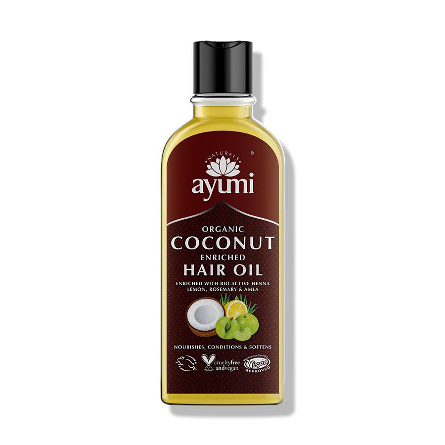 Ayumi Organic Coconut Enriched Hair Oil