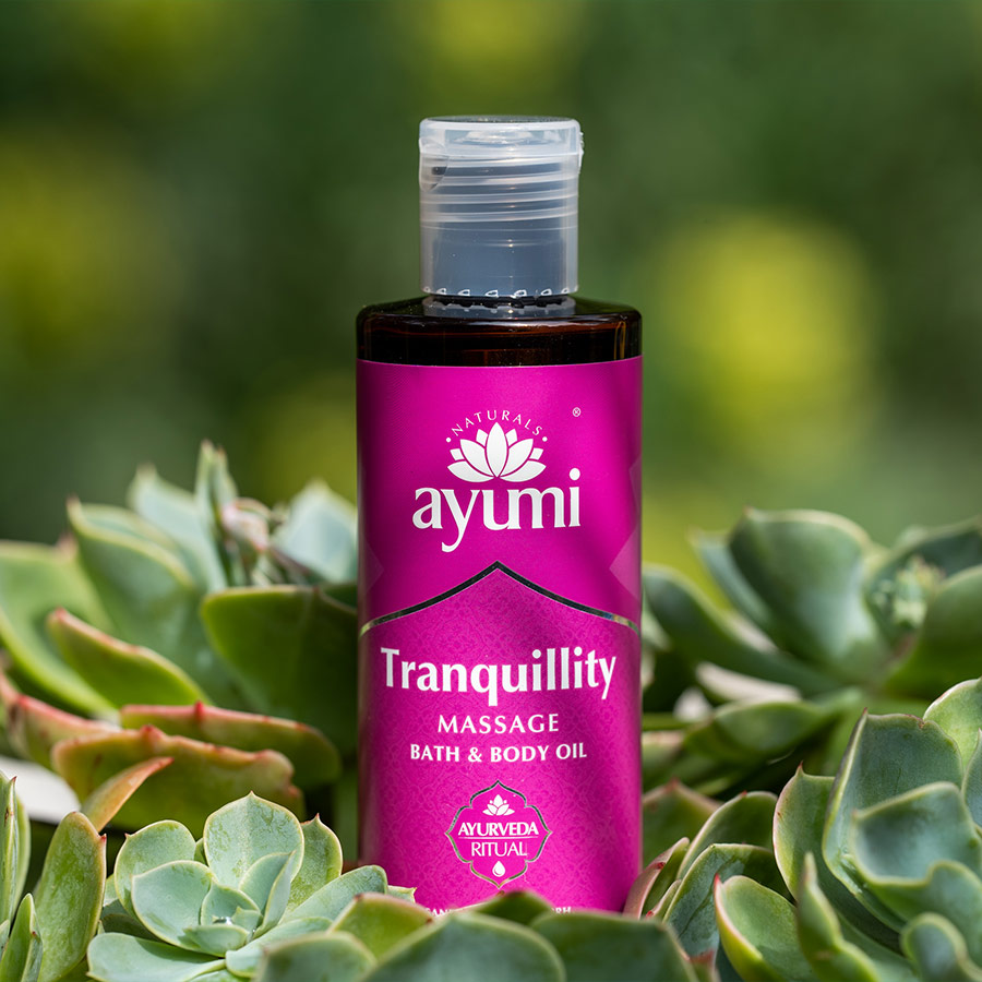 Ayumi Tranquility Massage Bath and Body Oil 2