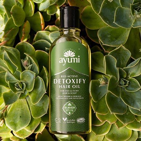 Image of Ayumi Detoxify Hair Oil