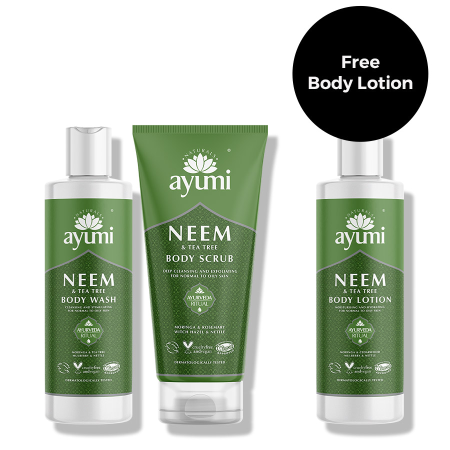 Ayumi Neem Body Wash Product Bundle