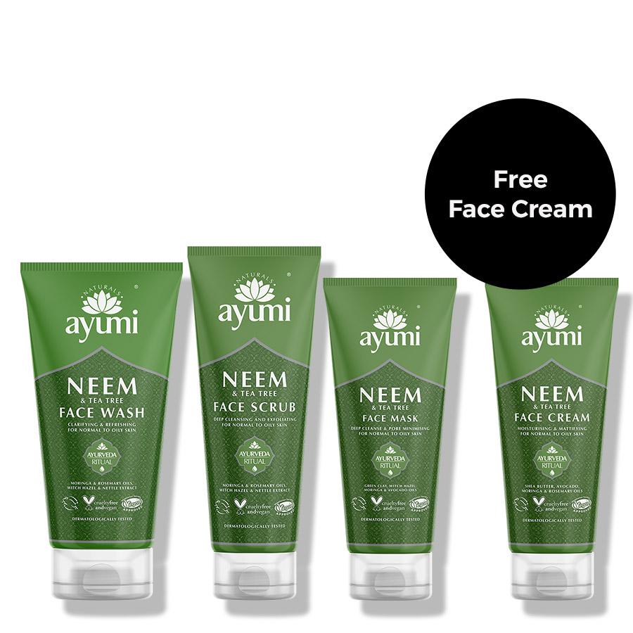 Ayumi Neem Face Wash Product Bundle